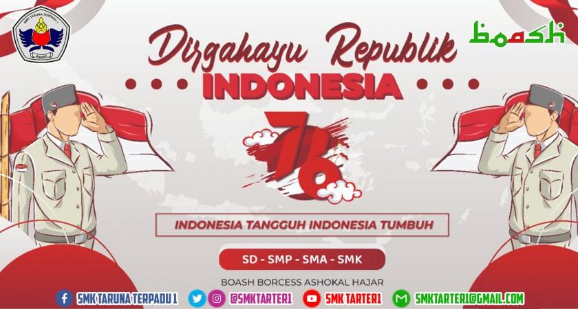 Dirgahayu Republik Indonesia yang ke 76