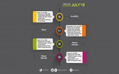 Berikut adalah jadwal tahun ajaran baru 2019/2020