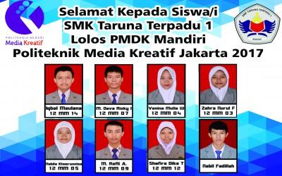 Daftar nama lolos PMDK Polmed