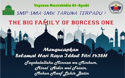 Selamat Hari Raya Idhul Fitri 1438H