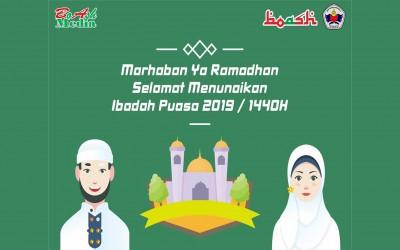 Marhaban Yaa Ramadhan 1440H