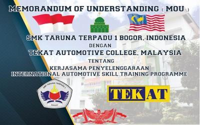 MOU SMK Taruna Terpadu 1 dengan TEKAT Automotive College