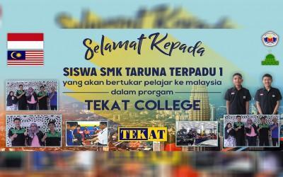 Selamat Kepada Siswa Yang Berhasil Pertukaran Pelajar Ke Malaysia