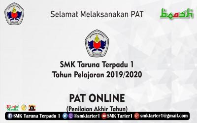Selamat Melaksanakan PAT Online