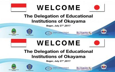 Kujungan dari Okayama Institute Language