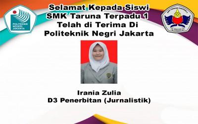 Selamat Telah Masuk Politeknik Negeri Jakarta