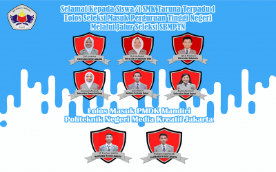 Selamat Kepada Siswa/i Lolos SBMPTN & Mandiri Polmed