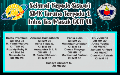 Daftar nama lolos PMDK CCIT UI