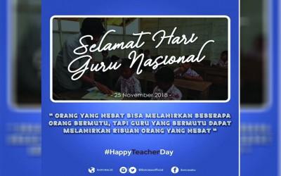 Selamat Hari Guru 2018