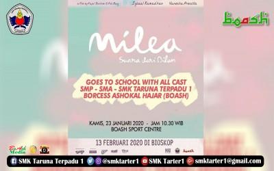 Meet and Greet film Milea Suara Dari Dilan