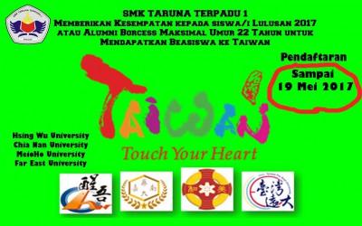 Beasiswa Kuliah Ke Taiwan