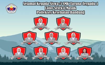Selamat Kepada Siswi Lolos Masuk Poltekes Bandung