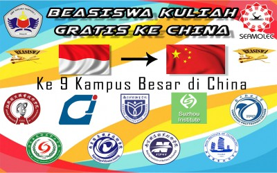 Beasiswa Kuliah Ke China