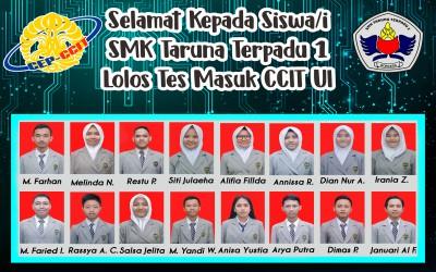 LOLOS CCIT Universitas Indonesia