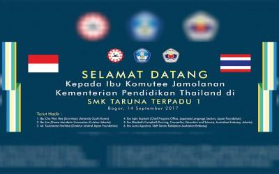 Kunjungan Dari Kementerian Pendidikan Thailand
