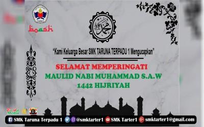 Maulid Nabi Muhammad SAW 1442 H