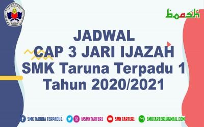 Jadwal Cap 3 Jari Alumni 2021